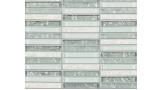 Zebra Pattern Mosaic - Frost