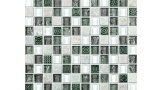 Harmony Patterned Marble and Glass Mosaic